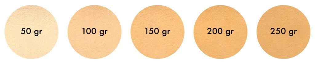 Palette Pigmento Giallo Ossido