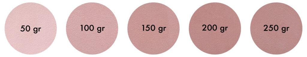 Palette Pigmento Rosso Ossido