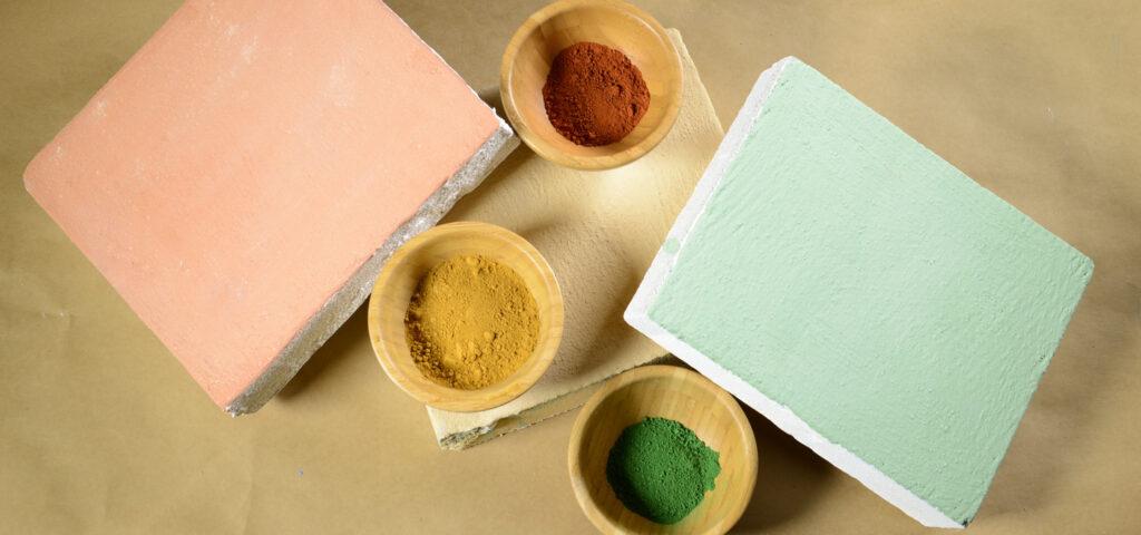 Calcelatte pigmenti