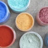 Colore calce in pigmenti de La Banca della Calce Calcelatte