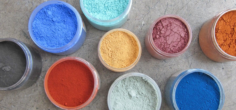 I pigmenti e le pitture a calce colorate la banca della for Banca della calce