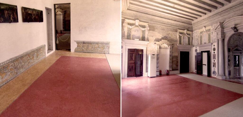 Pastellone a calce del Palazzo Grimani realizzato daBanca della Calce