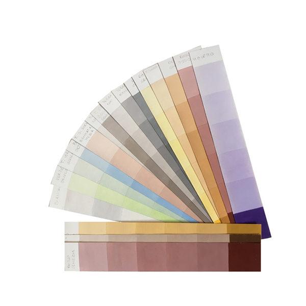 Palette Mazzetta Colori Realizzata A Mano