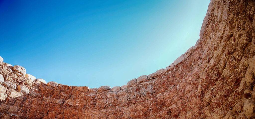 Fornace da calce a Marocco con Banca della Calce