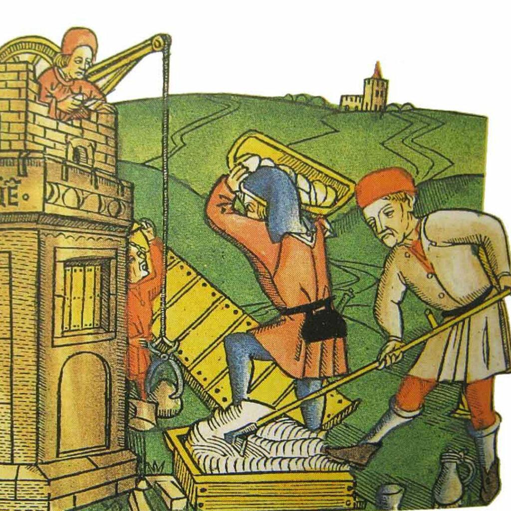 produzione-calce-nel-Medioevo