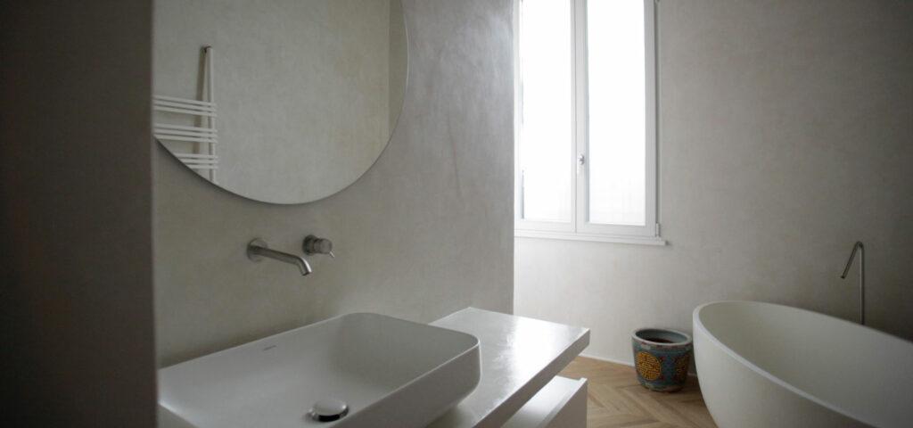 bagno in tadelakt - Foto Panoramica