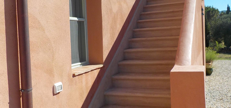 Cocciopesto scale