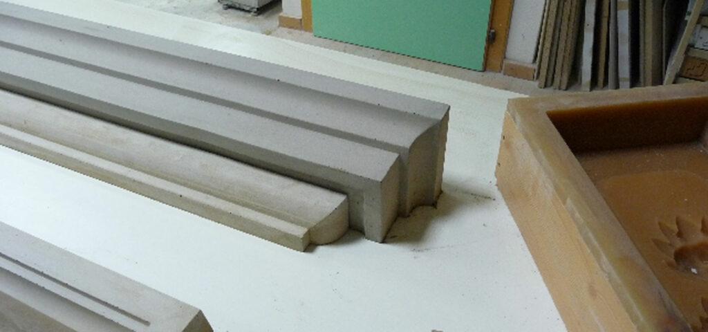 Roman cement stampo
