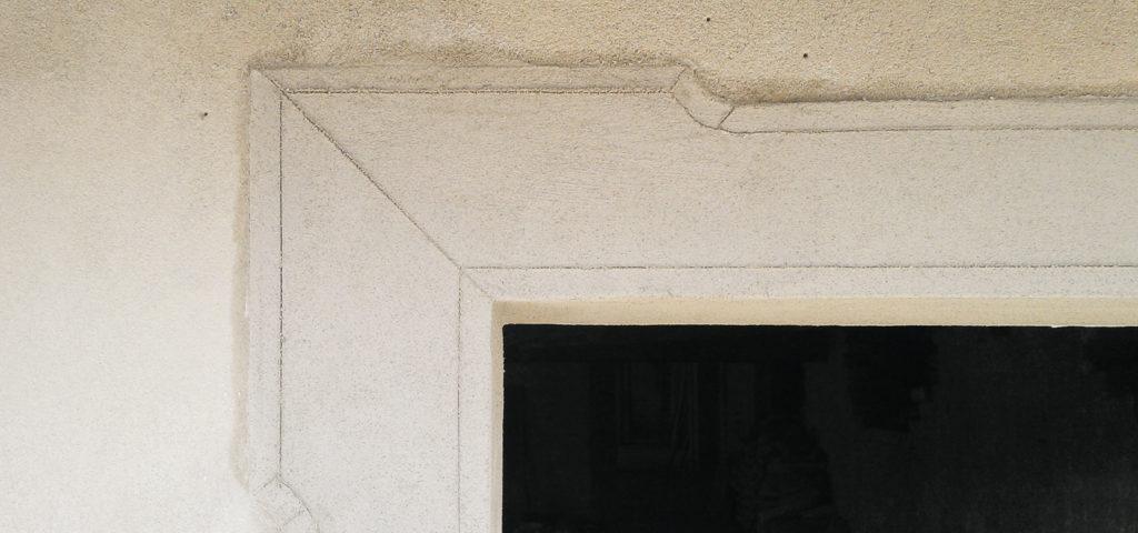 esempio di ristrutturazione con intonaco a calce