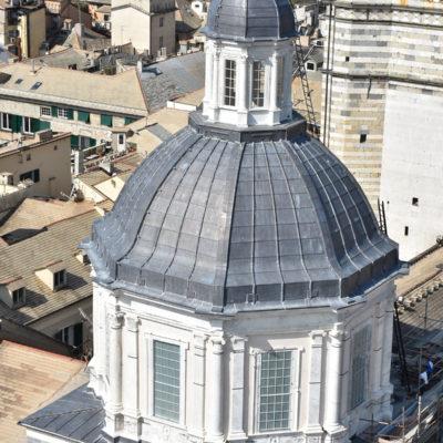 restauro basilica san Lorenzo Genova