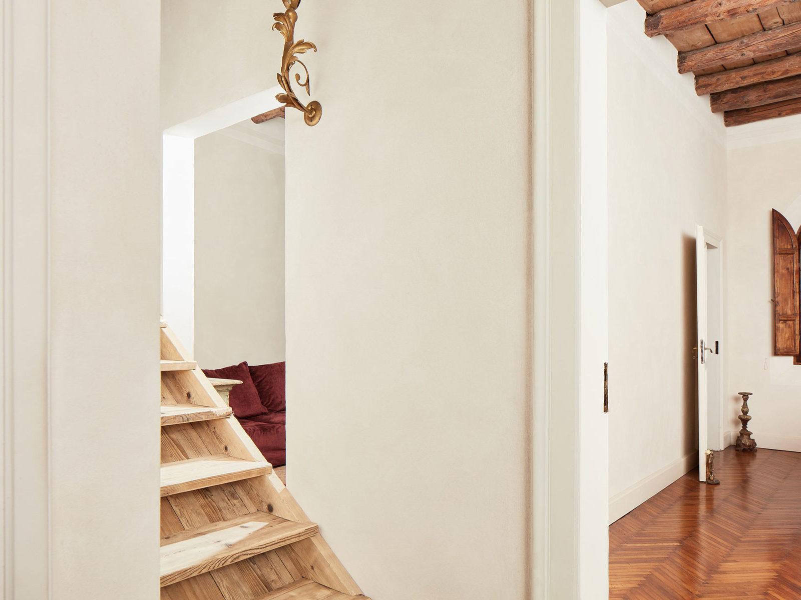 pittura a calce abitazione