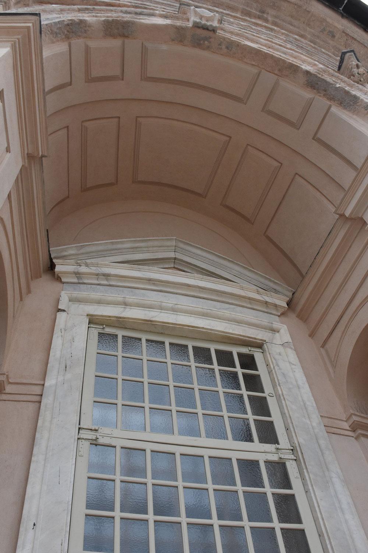 esempio di restauro con malte di calce_interno