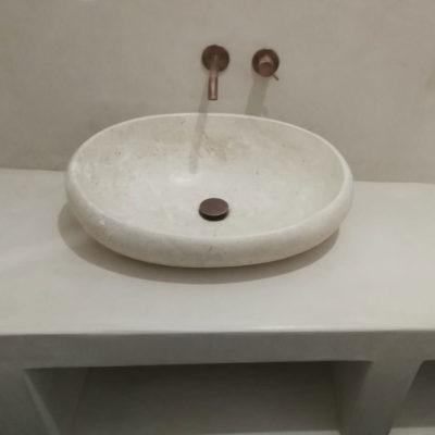 lavabo in tadelakt bologna