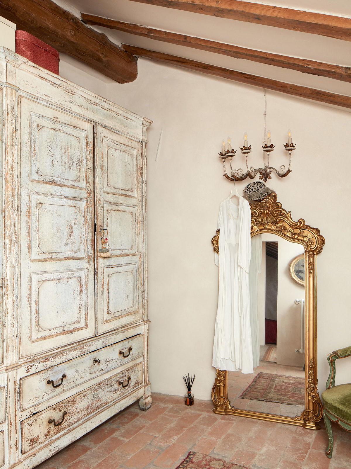 pareti tinteggiate a calce